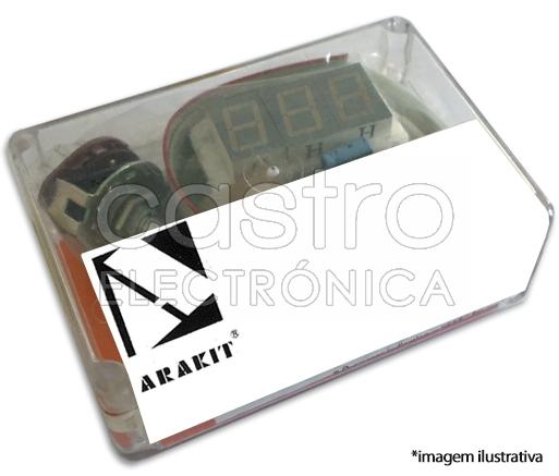 Kit Amplificador Stéreo p/ Auscultadores c/ Impedância entre 200 e 600 Ohm - ARAKIT