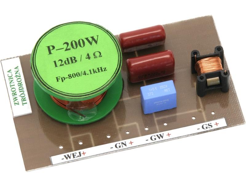 Filtro Crossover 3 Vias 4ohm 200W - ProFTC