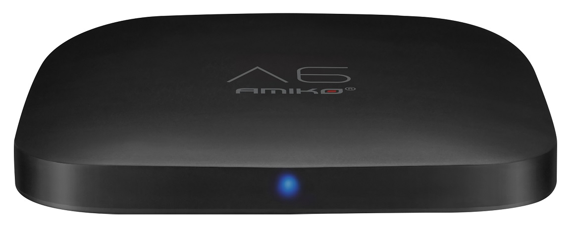 Receptor IPTV 4K Media Player ANDROID WIFI (A6) - AMIKO