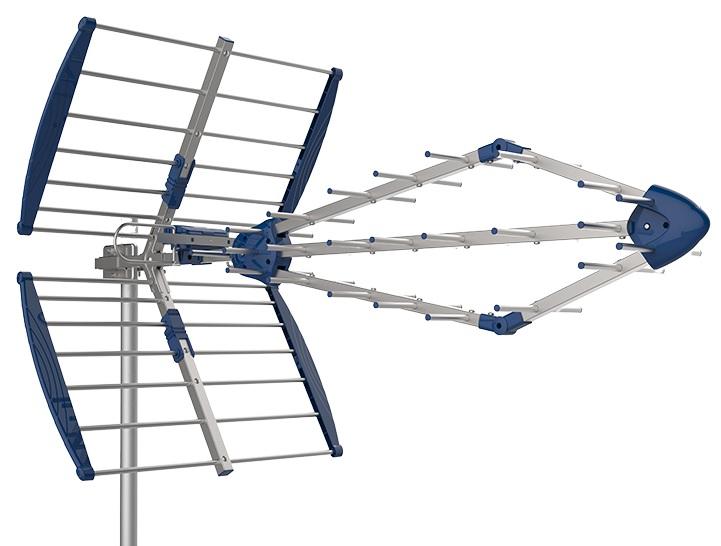 Antena TDT UHF 25 Elementos SUPER 5G - DAXIS