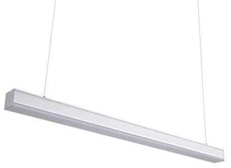 Armadura LED 220V 36W Branco 4000K 3200Lm IP20 120º (1,20 mts) Branco - Suspenso