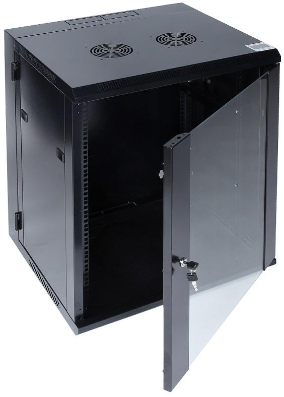 Armário Bastidor p/ Pendurar 19 15U (600mm) com Porta Vidro - ProFTC