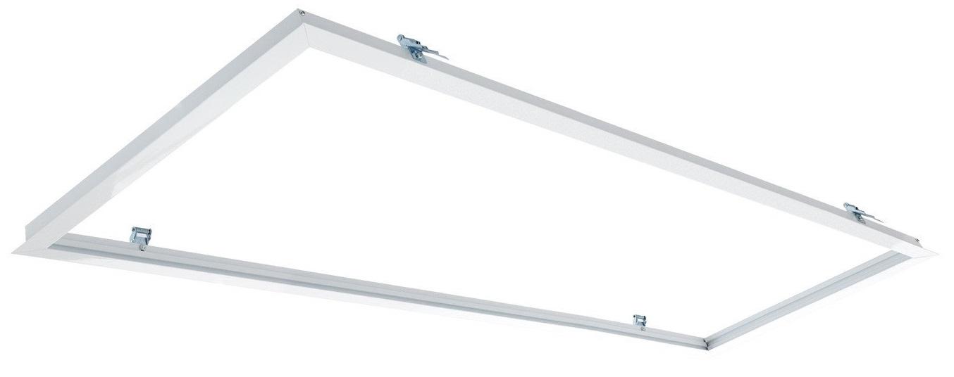 Aro Encastrar Branco p/ Fixação Painel LED (30x120cm)
