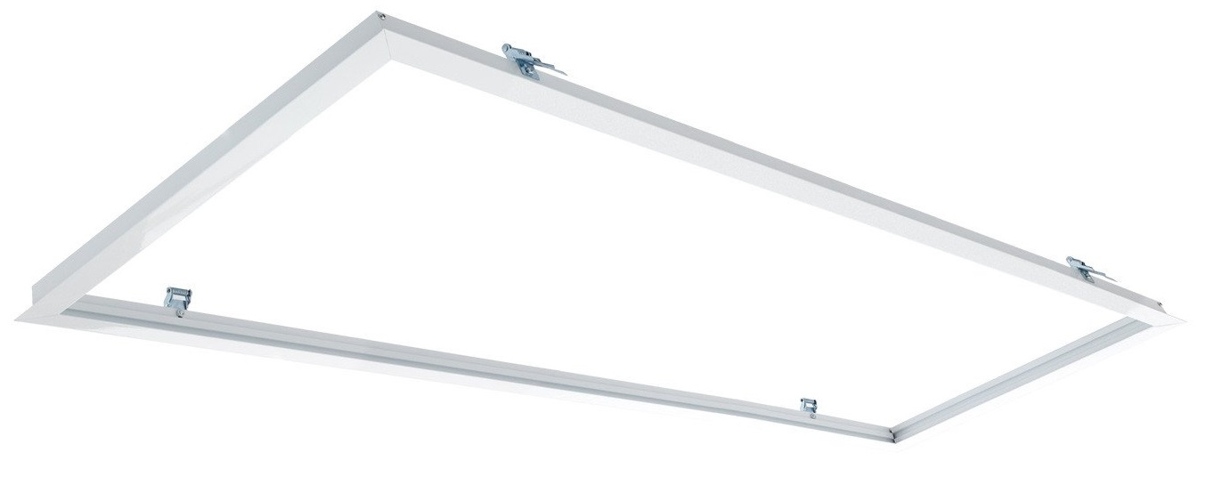 Aro Encastrar Branco p/ Fixação Painel LED (60x120cm)