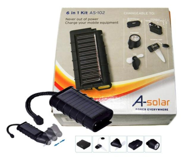 Multi Funções Solar 6 em 1