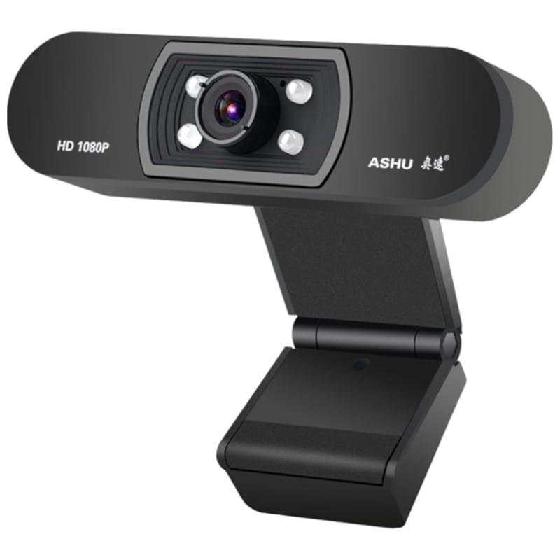 WebCam H800 USB 2MP Full HD (Preto) - ProFTC