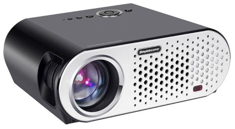 Video Projector LED FullHD 3200 Lumens (USB/HDMI/VGA/AV) - ProFTC