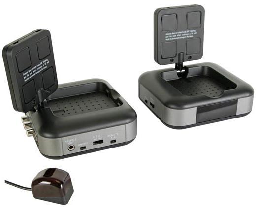 Transmissor Audio/Video + IR (5,8GHz) - IBEROSAT