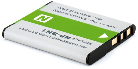 Bateria Câmara Sony NP-BN1 3,6V 630mAh Li-Ion
