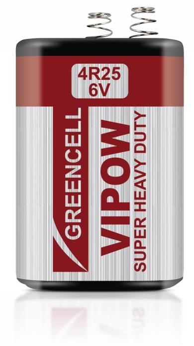 Bateria Zinco-Carvão 4R25 6V 3200mAh - VIPOW