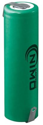 Bateria AA NI-MH 1,2V 1600mA c/ Patilhas - NIMO