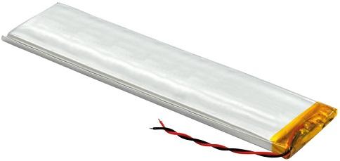 Bateria 3,7V 400mAh Li-Pol - 17 x 52 x 6 mm