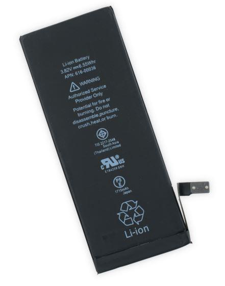 Bateria Compatível iPhone 6S 1715mAh