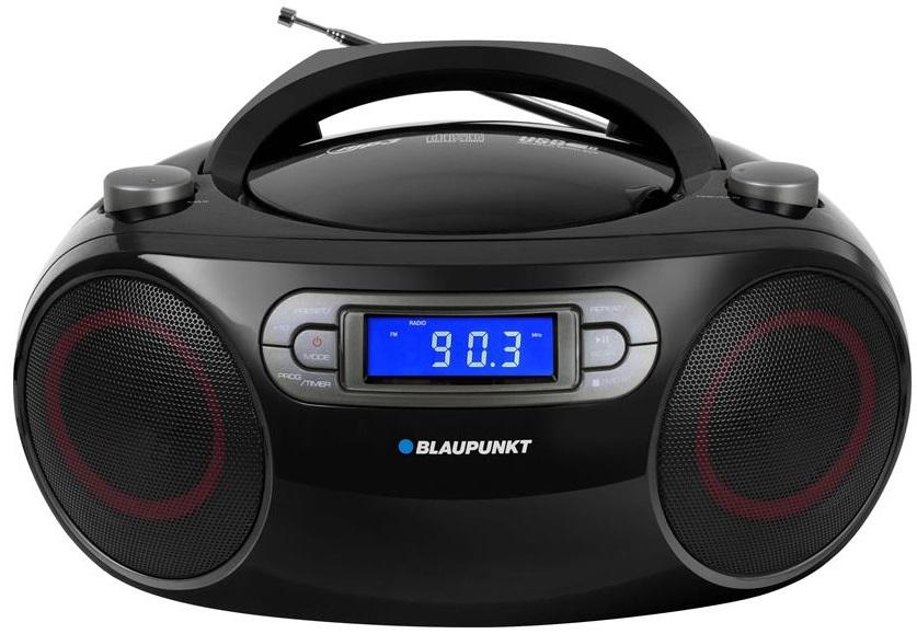 Rádio BB18BK FM PLL 4W c/ USB (Preto) - BLAUPUNKT