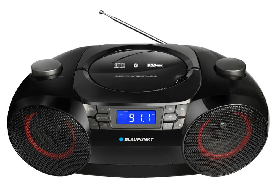 Rádio Bluetooth CDs BB30BT 12W (Preto) - BLAUPUNKT