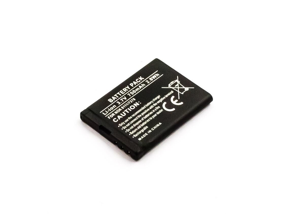 Bateria Compatível BL-4B Nokia (750mAh)
