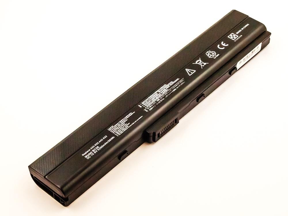 Bateria Compatível A31-K52, A32-K52, A41-K52, A42-K52 Asus (5200mAh)