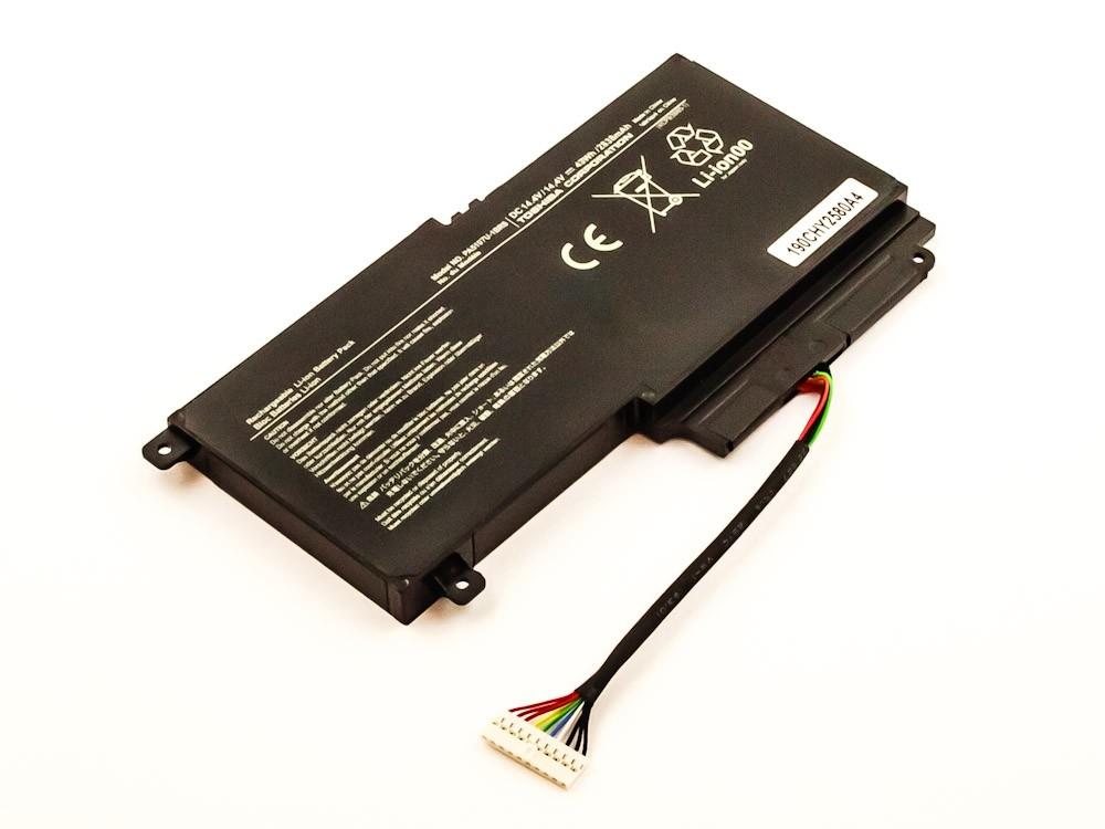 Bateria Compatível P000573230, PA5107U-1BRS Toshiba (2838mAh)