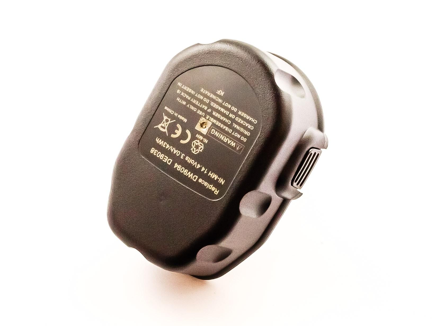Bateria Compatível 652345-01, DC9091, DC9094, DE9031, DE9038, DE9091, etc DEWALT (3000mAh)