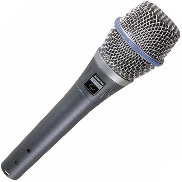 Microfone Condensador SuperCardioide (BETA 87A) - SHURE