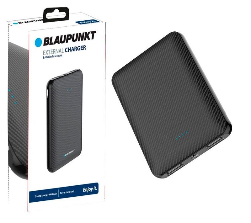 Powerbank BLP7450 5000mAh 5V/2.1A (Preto) - BLAUPUNKT