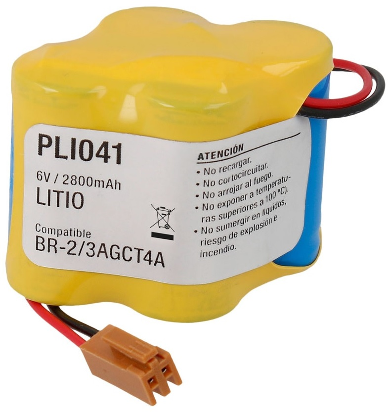 Bateria Litio 6V 2800mAh (BR-2/3AGCT4A) - NIMO