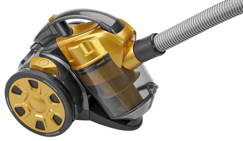 Aspirador s/ Saco 700W HEPA (Amarelo) - CLATRONIC
