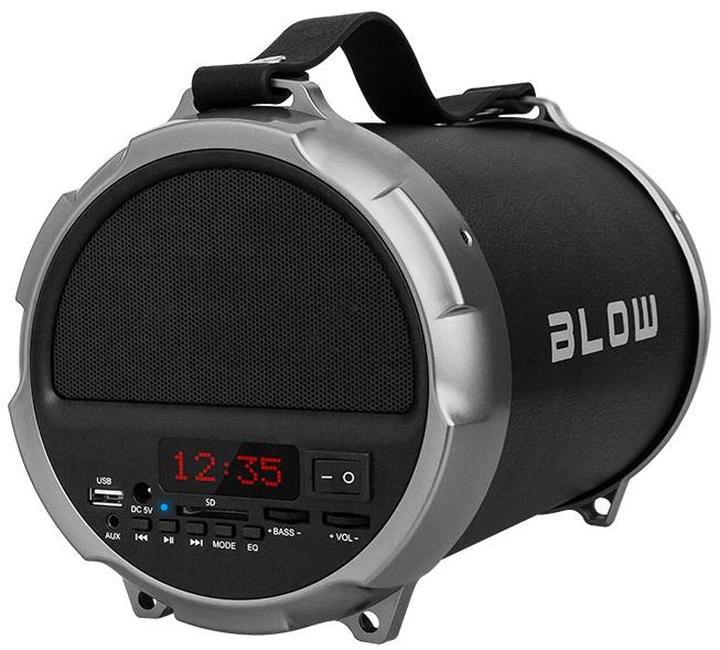 Coluna Amp. Portátil 100W c/ Leitor MP3/USB/SD/BLUETOOTH e Radio FM - BLOW