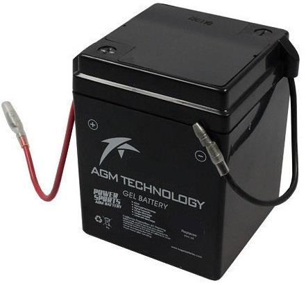 Bateria GEL p/ Mota 6V 4Ah - ProFTC