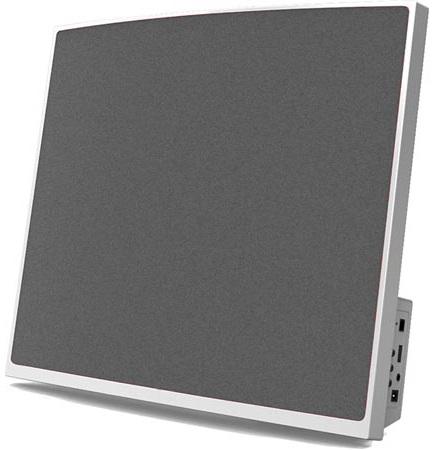 Coluna Bluetooth p/ Encastrar na Parede 2x 3W USB/MP3/AUX - DENVER