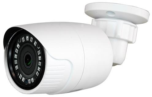 Camara Vigilancia (HDCVI, HDTVI, AHD e Analógica) 18 LEDs SMD 1/3 1,3 MP Cores Fixa 1000L - Branco