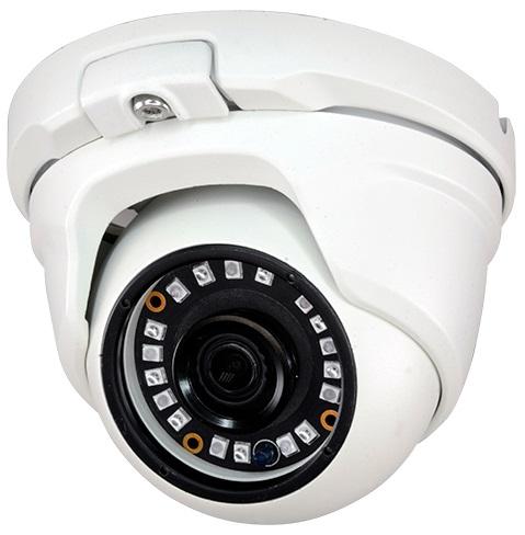 Camara Vigilancia DOME (HDCVI, HDTVI, AHD e Analógica) IP66 18 LEDs Cores 1000L SONY (1,3 Megapixel)