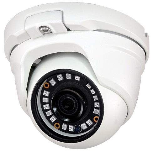 Camara Vig. DOME 4-EM-1 (HDTVI/HDCVI/AHD/Analógica) IP66 18 LEDs 2 MP Cores Fixa 1080p FullHD
