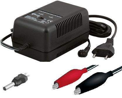 Carregador de Baterias Chumbo 6 / 12VDC 1500mA