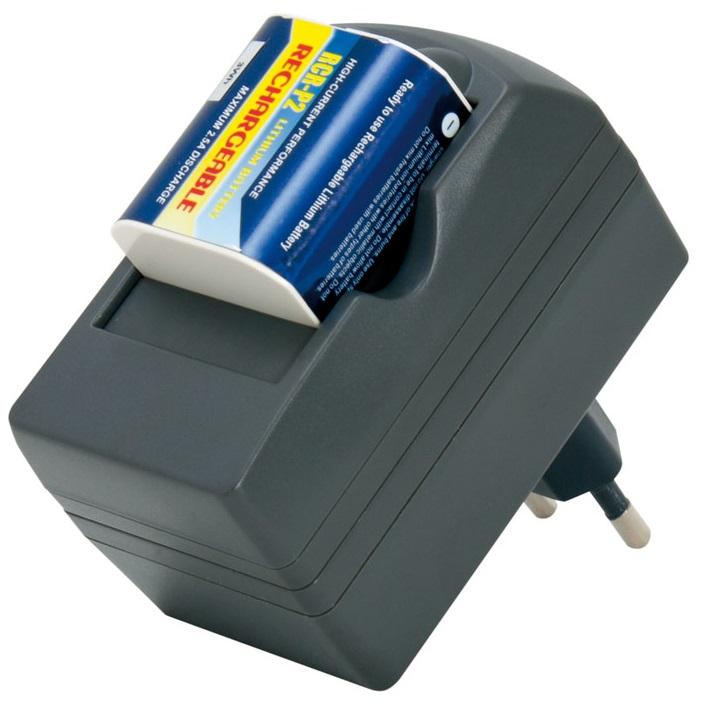 Carregador de Baterias Litio com 1 Pilha CR2P