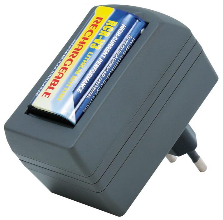 Carregador de Baterias Litio com 1 Pilha CRV3