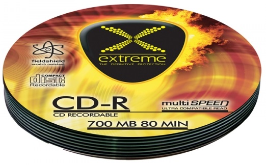 CD-R 52x 700MB (Pack 10) - EXTREME