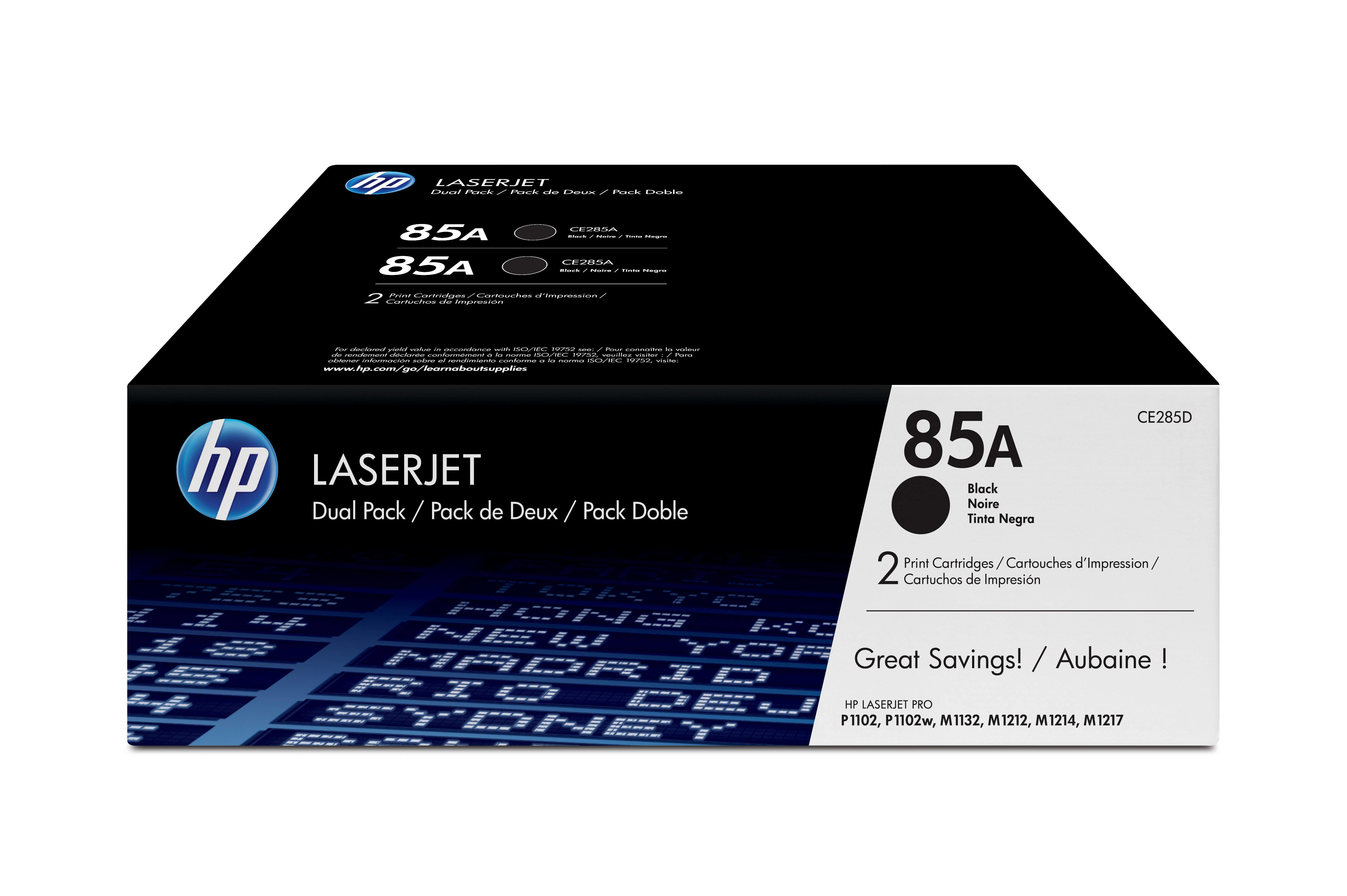 Toner 85A (Preto) - HP