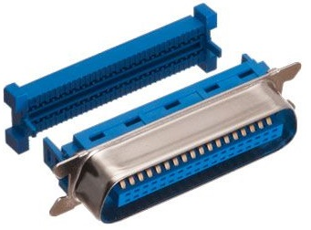 Ficha Centronics 36P Macho (Metálica) p/ Flat Cable