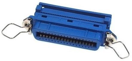 Ficha Centronics 36P Fêmea (Plástico) p/ Flat Cable