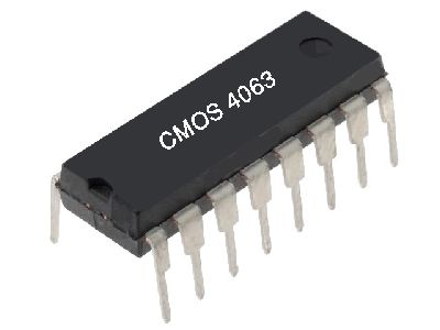 Circuito Integrado CMOS4063
