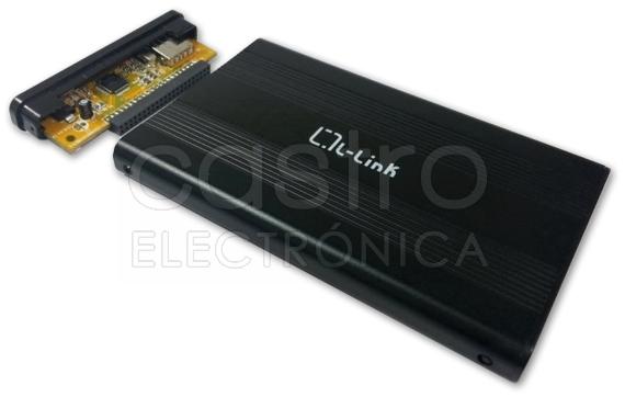 Caixa Externa p/ Disco Rigido 2,5 IDE USB2.0 - L-LINK