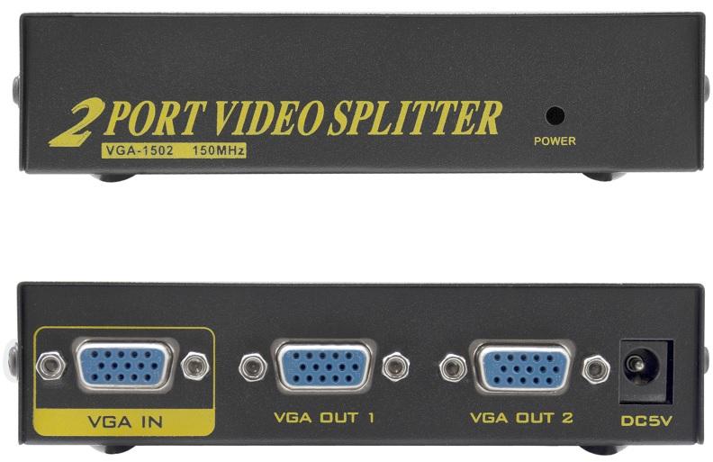 Switch Repartidor VGA 2 Portas - ProFTC
