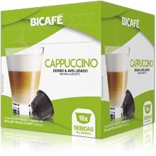 Cápsulas Dolce Gusto Bicafé (16 Unidades) Cappuccino