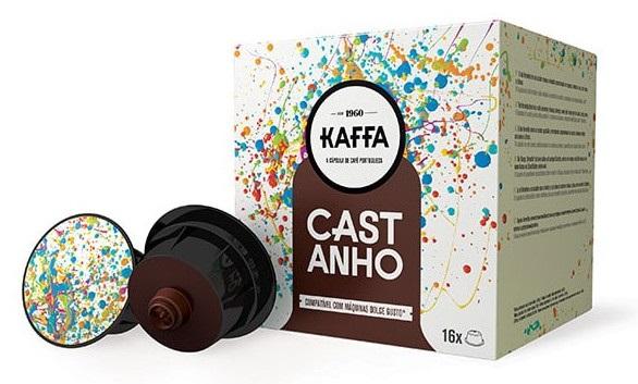 Cápsulas Dolce Gusto Kaffa (16 Unidades) Castanho