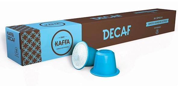 Cápsulas Nespresso Kaffa (10 Unidades) Decaf