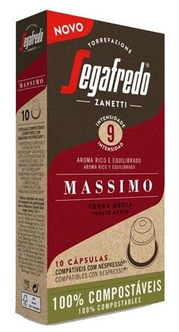 Cápsulas Nespresso Segafredo (10 Unidades) Massimo