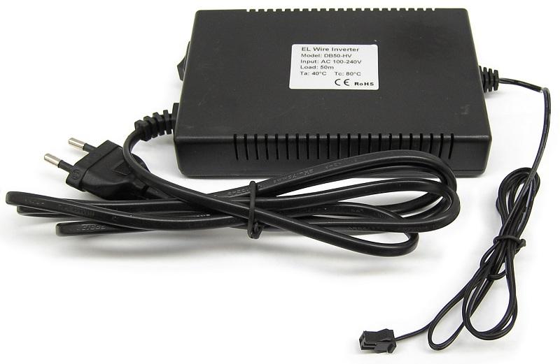Controlador p/ Fio Electroluminescente 220V AC - Até 50 mts