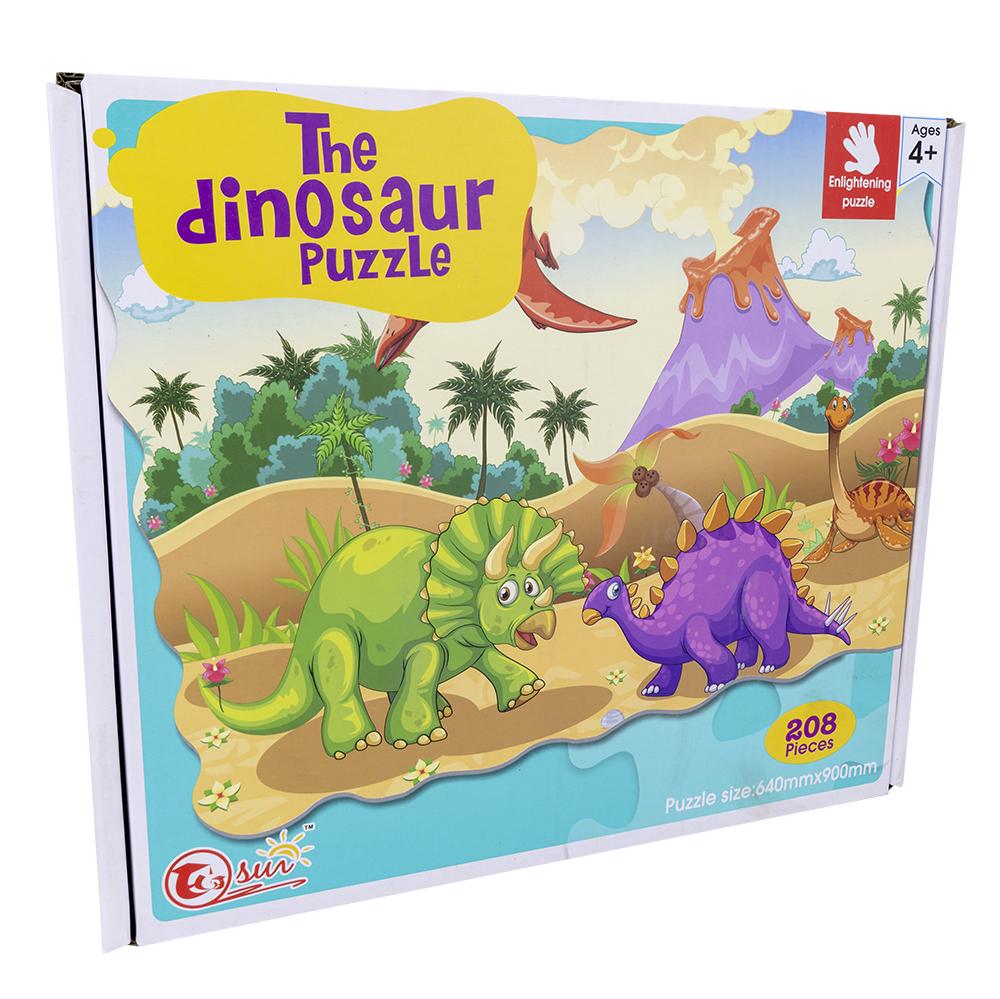 Puzzle The Dinosaur (208 Peças) - ProFTC