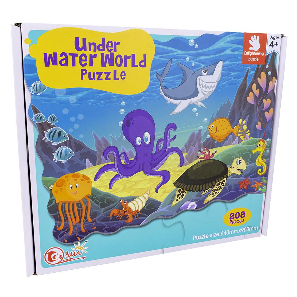 Puzzle Under Water World (208 Peças) - ProFTC